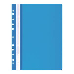 OFFICE PRODUCTS FILE PUNCHED BLUE