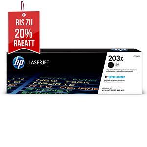 Toner HP CF540X / 203X, 3200 Seiten, schwarz