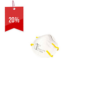 3M P2 DISPOSABLE CUPPED RESPIRATOR - PACK OF 3