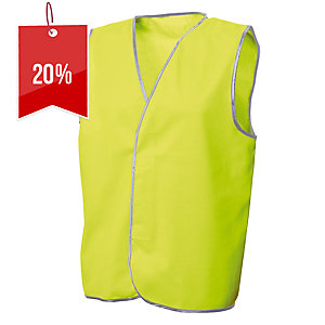 FRONTIER DAY VEST LARGE FLUORO YELLOW - EACH