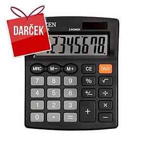 Stolová kalkulačka Citizen SDC805NR čierna, 8-miestny displej