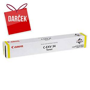 Canon laserový toner C-EXV 34 (3785B002), žltý