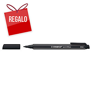 Rotulador Stabilo pointMax - negro