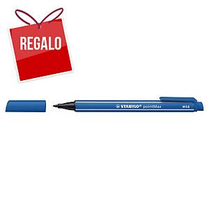 Rotulador Stabilo pointMax - azul