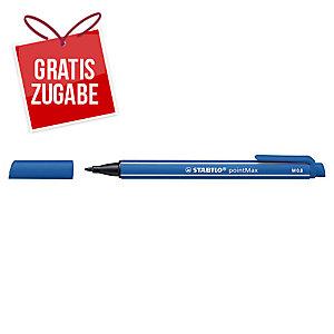 Faserschreiber STABILO pointMax 488/32, Strichstärke: 0,8mm, blau