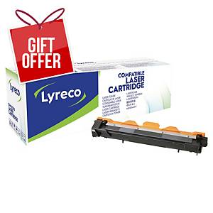 LYRECO LAS CART COMP BROTHER TN-1030 BLK