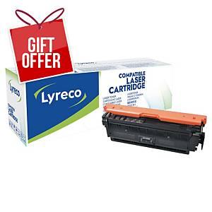 LYRECO LAS CART COMP HP CF360A BLK