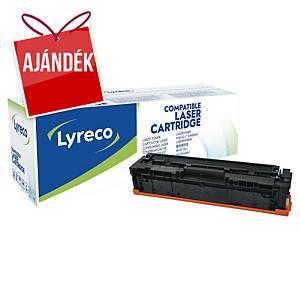 Lyreco kompatibilis toner lézernyomtatókhoz HP 201X (CF400X), fekete