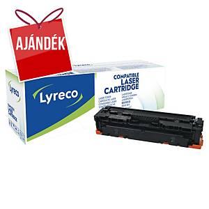Lyreco kompatibilis toner lézernyomtatókhoz HP 410A (CF410A), fekete