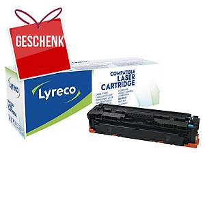 LYRECO kompatibler Toner HP 410A (CF411A) cyan