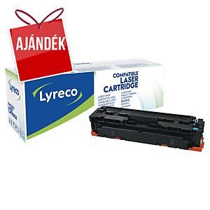 LYRECO kompatibilis toner HP 410A (CF411A) ciánkék