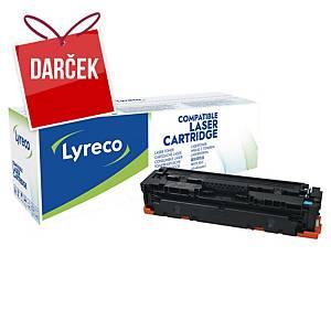 LYRECO kompatibilný toner HP 410A (CF411A) cyan
