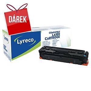 LYRECO kompatibilní toner HP 410A (CF411A), cyan