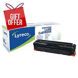 LYRECO LAS CART COMP HP CF411A CYA