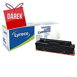 LYRECO kompatibilní toner HP 410X (CF411X), cyan