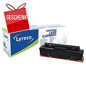 Lyreco Toner kompatibel mit HP CF411X, cyan, Reichweite: 5000 Seiten