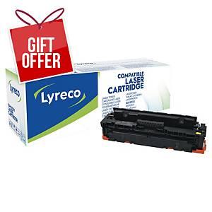 LYRECO LAS CART COMP HP CF412X YLLW