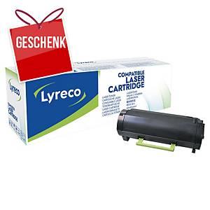 LYRECO kompatibler Lasertoner LEXMARK 50F2H00 schwarz