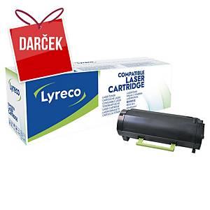 Lyreco kompatibilný laserový toner Lexmark 50F2H00, čierny
