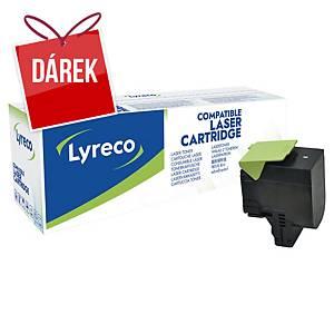 LYRECO kompatibilní laserový toner LEXMARK 70C2HK0, černý