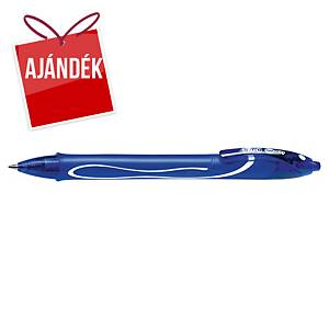 BIC Gelocity Quick Dry zselés toll, nyomógombos, 0,7 mm, kék