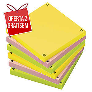 Oxford Spot Notes Karteczki samoprzylepne, mix kolorów