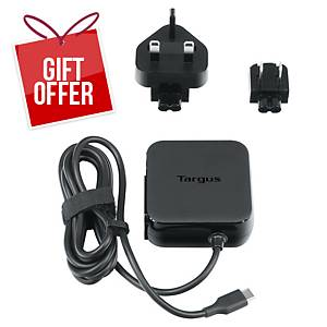 Targus Universal USB C Mains Charger (45 Watts) - Black