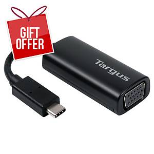 Targus USB-C To VGA Adaptor - Black