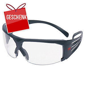 3M™ SecureFit Schutzbrille SF601SGAF transparent