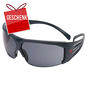 3M™ SecureFit Schutzbrille SF602SGAF grau