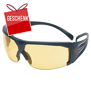3M™ SecureFit Schutzbrille SF603SGAF gelb