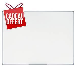 Tableau blanc laqué Bi-Office Earth-it - magnétique - 60 x 90 cm