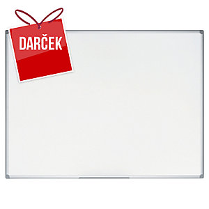 Biela tabuľa s magnetickým povrchom Bi-Office Earth-It, 90 x 60cm