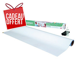 Tableau blanc en rouleau Super Sticky Post-It 121.9cm x 182.9cm