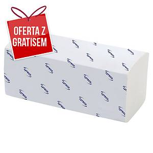 Ręczniki papierowe LYRECO ZZ-Fold, składka V, 20 x 200 listków