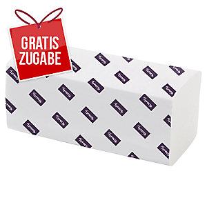 Falthandtuch Lyreco , V-Falz, 2-lagig, 21x24cm, 20x200 Stück