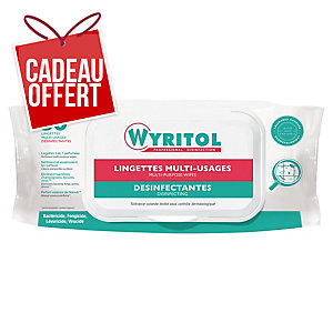 Lingette multi-usages désinfectante Wyritol - paquet de 50