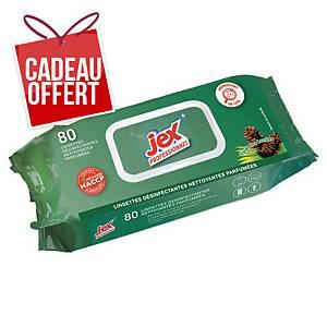Lingette désinfectante Jex Professionnel - forêt des Landes - paquet de 80