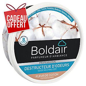 Désodorisant gel Boldair destructeur d odeurs - fleur de coton - 300 g
