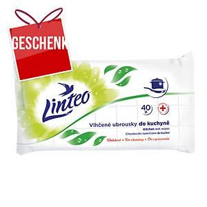 Linteo Feuchttücher für Küche, 40 Stück