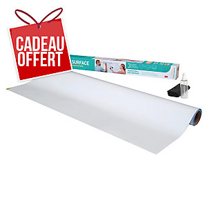 TABLEAU BLANC EN ROULEAU SUPER STICKY POST IT 121.9 CM x 243.8 CM