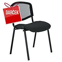 Konferenčná stolička Nowy Styl Welcome, čierna