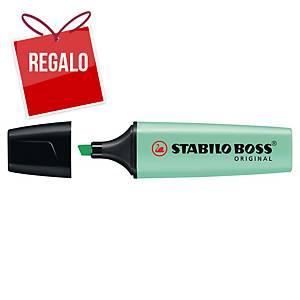 Marcador fluorescente Stabilo Boss - menta pastel