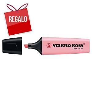 Marcador fluorescente Stabilo Boss - rosa pastel