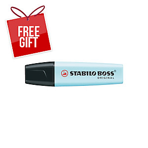 STABILO BOSS ORIGINAL PASTEL HIGHLIGHTER TOUCH OF TURQUOISE