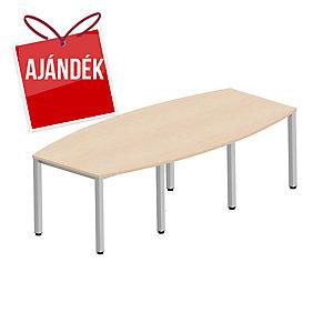 Easy Style Nowy Styl nagy konferenciaasztal, 8 láb, 240 x 120 x 72 cm, juhar