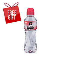 G-ACTIVE FLAVOURED WATER BERRY 600ML - PACK OF 12