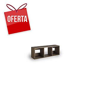 Livraria Lyreco 3 caixas com medidas 44x40x128 carvalho