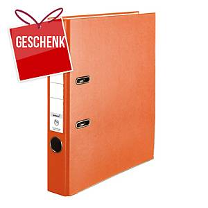 Herlitz Q.file Standardordner, Rückenbreite 5 cm, orange