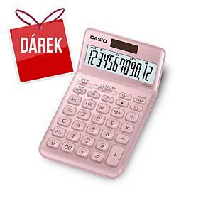 Stolní kalkulačka CASIO JW-200SC růžová, 12místná